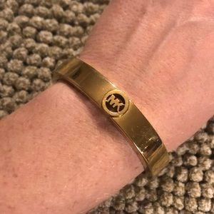 Michael Kors gold tone bracelet